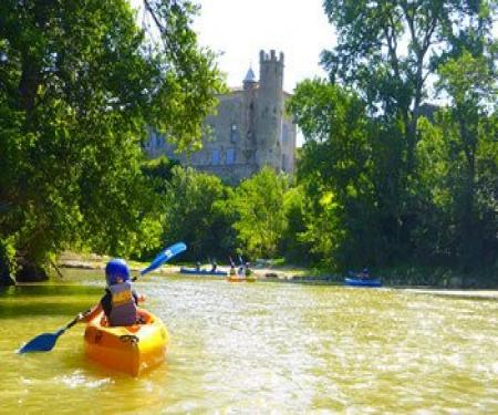 Activité canoë ou kayak à Puichéric