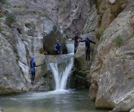 Canyoning aux gorges de Galamus
