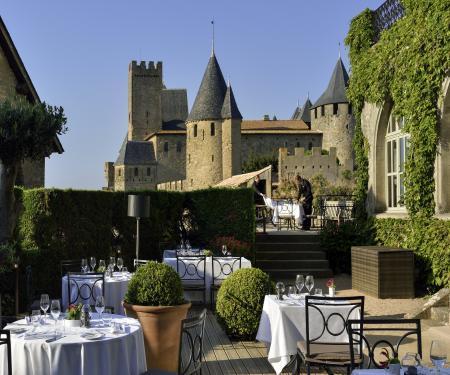 dîner gourmet et soirée unique dans la Cité de Carcassonne