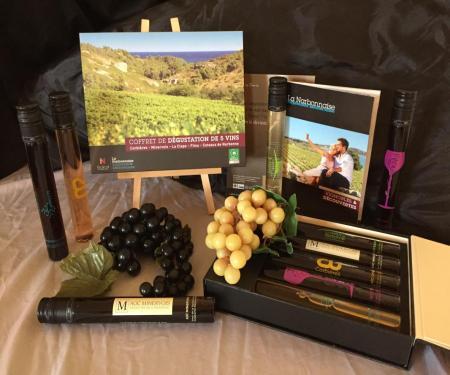 Le goût du Sud : vin, miel et olive