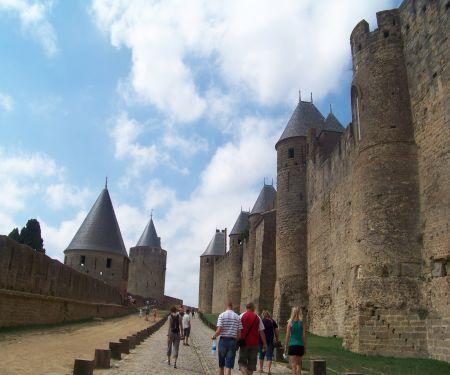 Carcassonne en douceur.