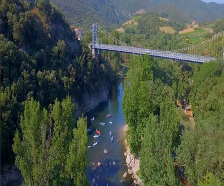 Canoe et Canyoning aux gorges d'Héric