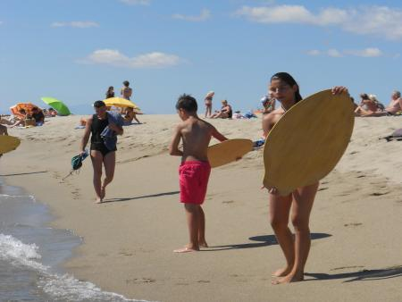 Free camp gliss - Kite-surf Paddle Skimboard -12 à 16 ans