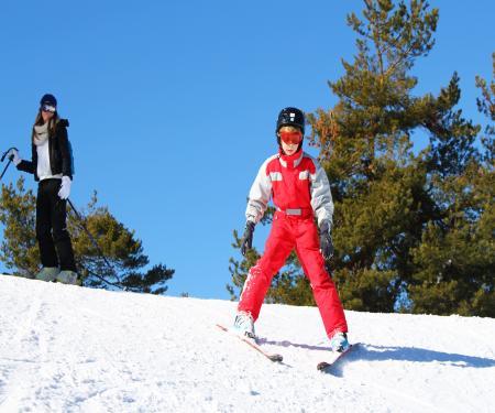 Week end ski en famille à Camurac